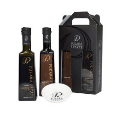 Gourmet Gift Pack - 2 x 250ml with Porcelain Dipping Bowl