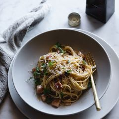 Spaghetti Carbonara by Ben Milbourne
