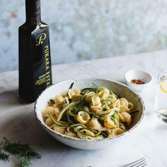 Zucchini and Labne Orecchiette by Ben Milbourne